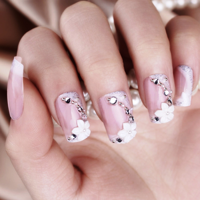 bridal-collection-design-nail-art 35 Nails Designs; How Do You Paint Your Nails?