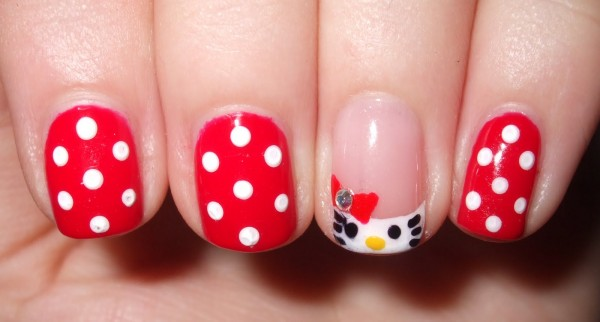cute-Hello-Kitty-nail-art-hello-kitty-35421392-1600-861 35 Nails Designs; How Do You Paint Your Nails?