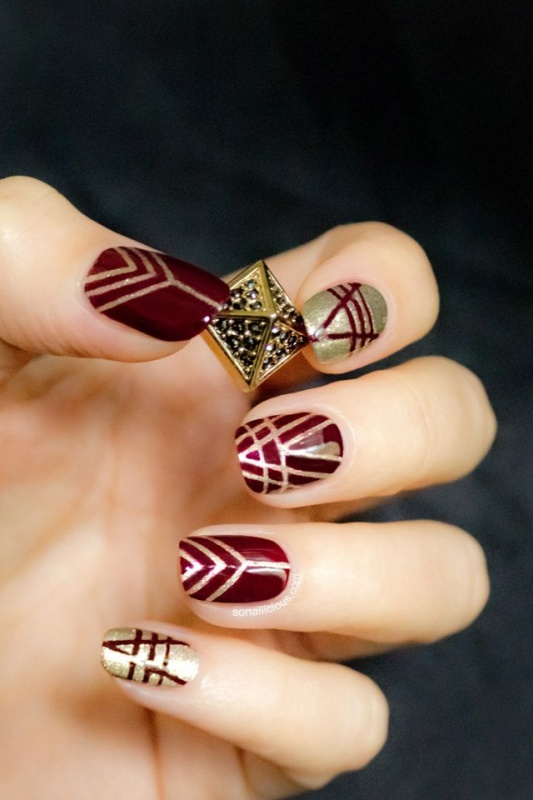 e760f2f36df9c3c6ab7d272d53b0fc7c 35 Nails Designs; How Do You Paint Your Nails?