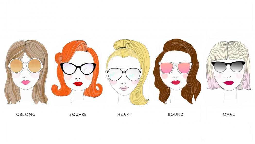faces-sunglasses-final-1 How To Find The Sunglasses Style That Suit Your Face Shape