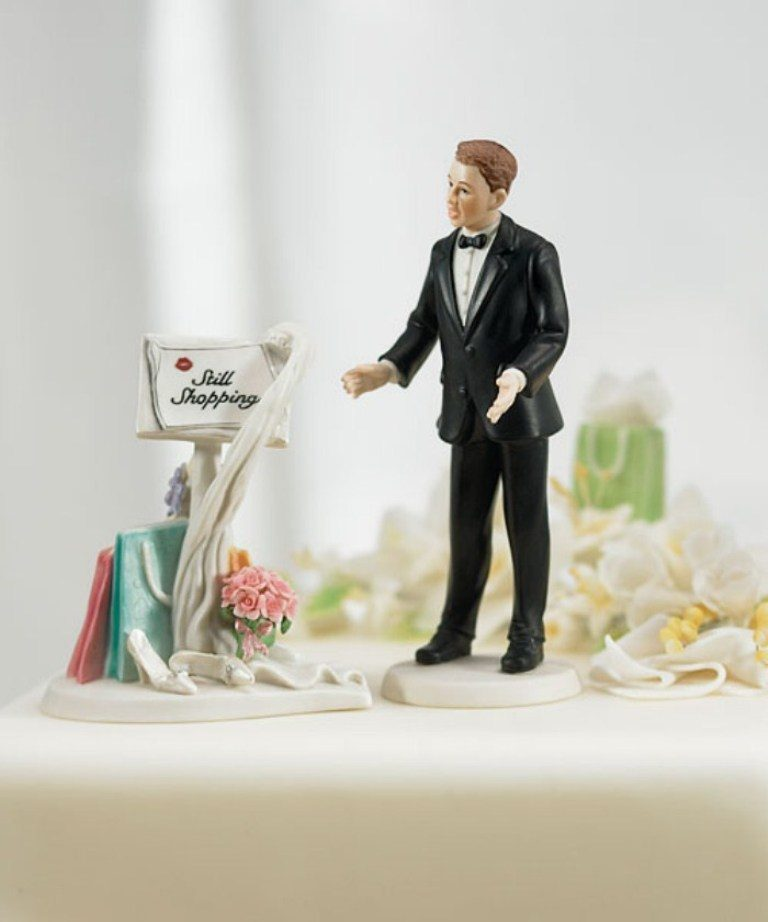 funny-wedding-cake-toppers-16 50+ Funniest Wedding Cake Toppers That'll Make You Smile [Pictures] ...
