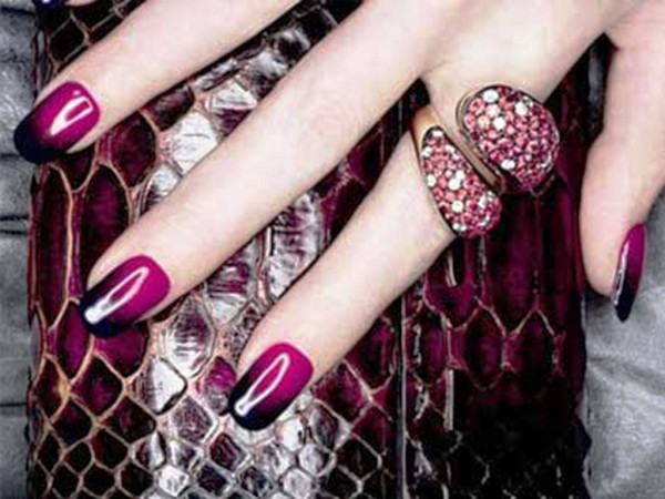 glamour-nail-art 35 Nails Designs; How Do You Paint Your Nails?