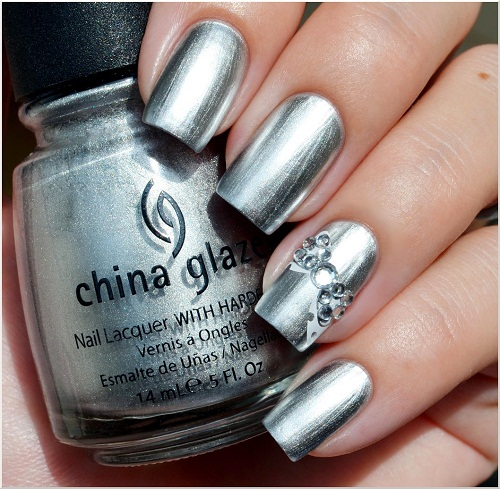 metallic-nail-polish-designs 35 Nails Designs; How Do You Paint Your Nails?