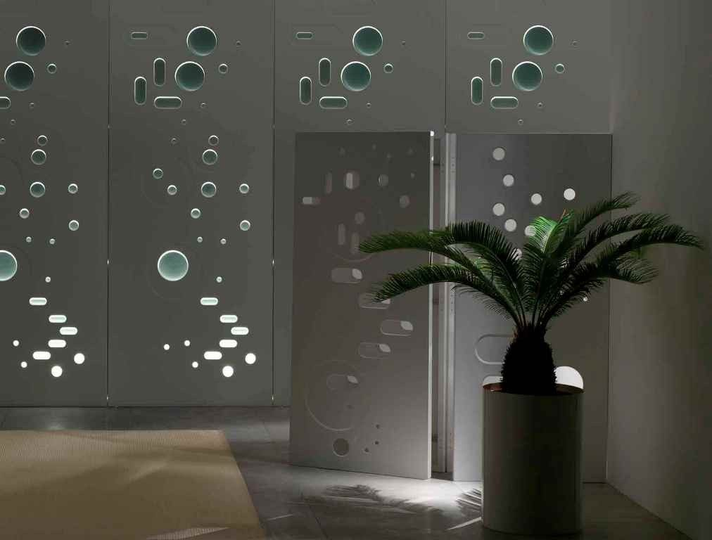 perforated-metal-sheet-ideas-28 63 Awesome Perforated Metal Sheet Ideas to Decorate Your Home