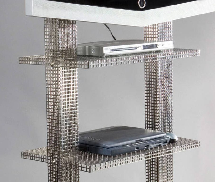 perforated-metal-sheet-ideas-32 63 Awesome Perforated Metal Sheet Ideas to Decorate Your Home