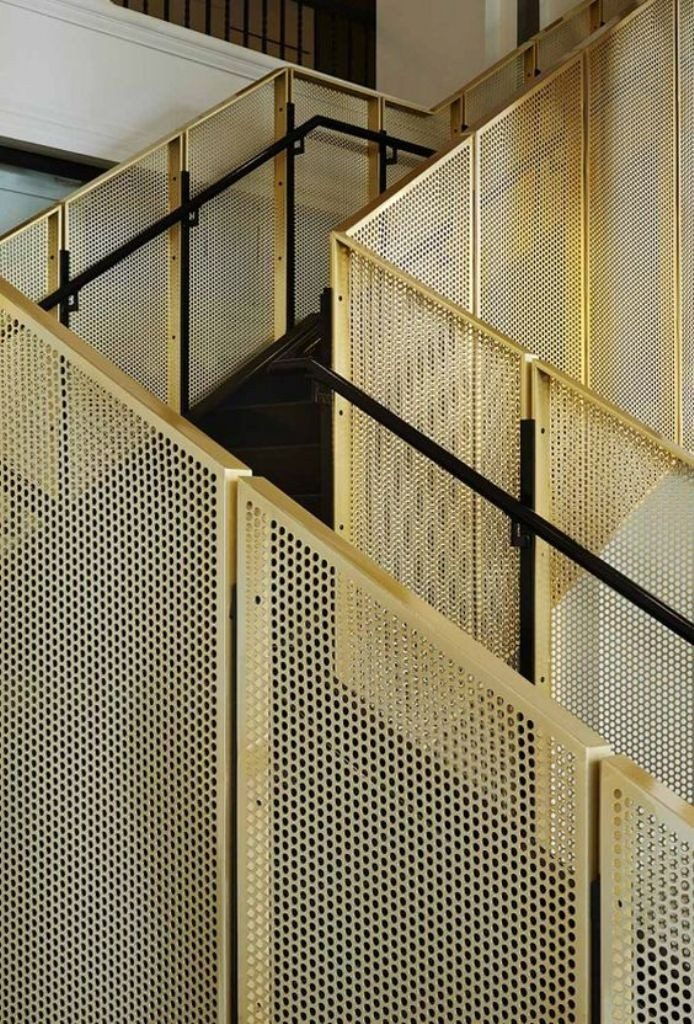 perforated-metal-sheet-ideas-60 63 Awesome Perforated Metal Sheet Ideas to Decorate Your Home