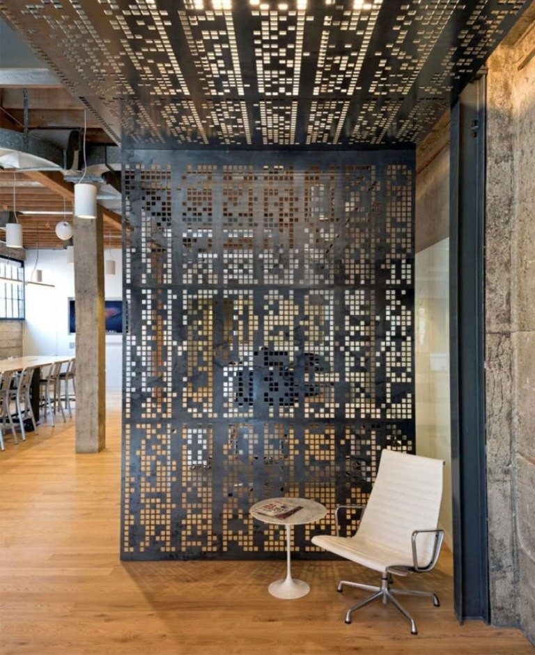 perforated-metal-sheet-ideas-61 63 Awesome Perforated Metal Sheet Ideas to Decorate Your Home