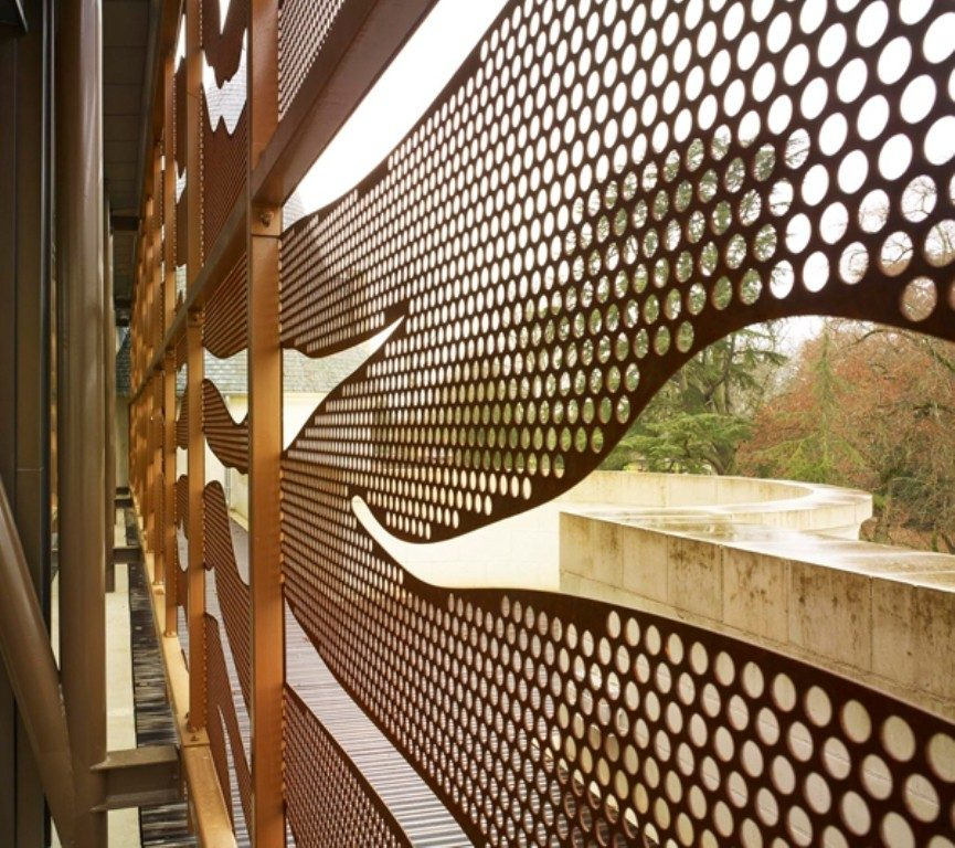perforated-metal-sheet-ideas-62 63 Awesome Perforated Metal Sheet Ideas to Decorate Your Home