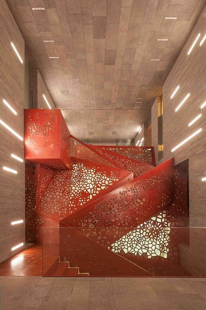 perforated-metal-sheet-ideas-74 63 Awesome Perforated Metal Sheet Ideas to Decorate Your Home