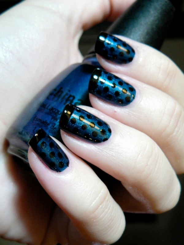 polka_dot_nail_art 35 Nails Designs; How Do You Paint Your Nails?