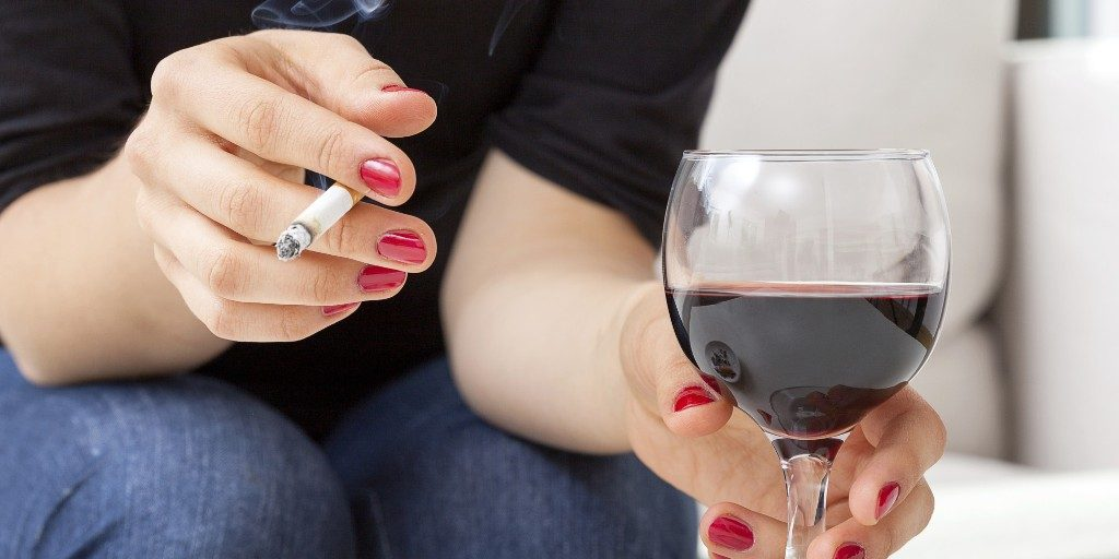 smoking-and-alcohol-cause-snoring How To Get Rid Of Snoring Problem Once And For All