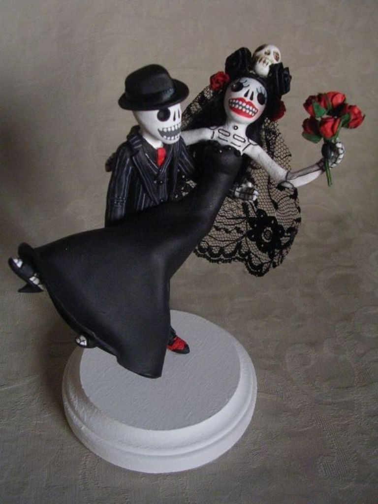 united-till-death-separates-us-wedding-cake-toppers-5 50+ Funniest Wedding Cake Toppers That'll Make You Smile [Pictures] ...