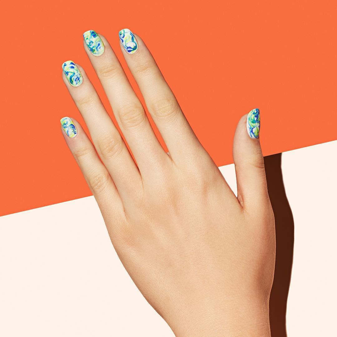 13118210_222649024780684_134797757_n 50+ Coolest Wedding Nail Design Ideas