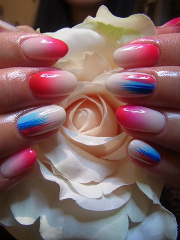 18-japanese-nail-art 50+ Coolest Wedding Nail Design Ideas