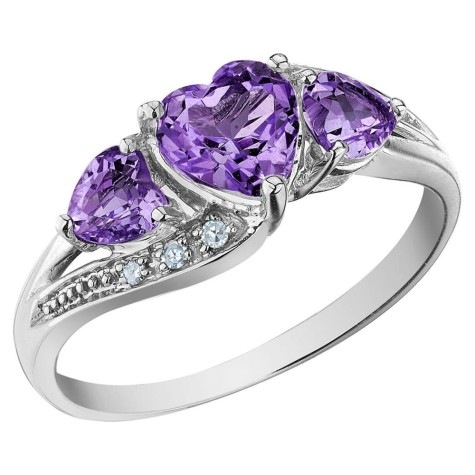 Amethyst5-475x475 How Do You Select Gemstones For Young Girls?