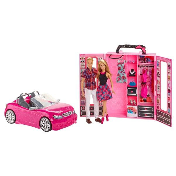 Barbie-Convertible-Car-and-Closet-1 20+ Must Have Christmas Toys for Children in 2020