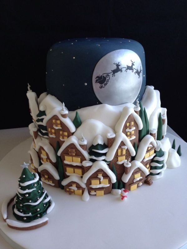 Christmas-Cake-Decoration-Ideas-2017-1 82+ Mouthwatering Christmas Cake Decoration Ideas 2019