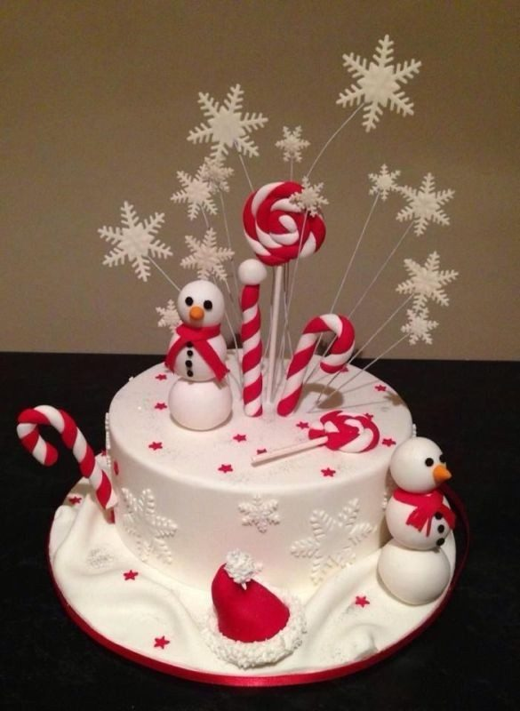 Christmas-Cake-Decoration-Ideas-2017-10 82+ Mouthwatering Christmas Cake Decoration Ideas