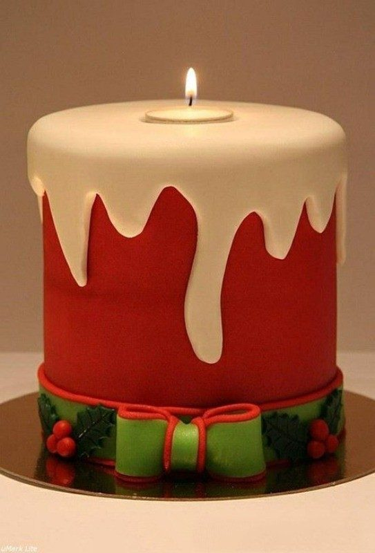 Christmas-Cake-Decoration-Ideas-2017-11 82+ Mouthwatering Christmas Cake Decoration Ideas