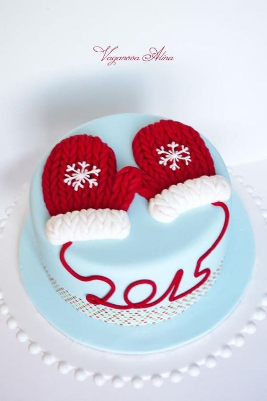 Christmas-Cake-Decoration-Ideas-2017-17 82+ Mouthwatering Christmas Cake Decoration Ideas 2019