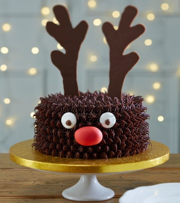 Christmas-Cake-Decoration-Ideas-2017-20 82+ Mouthwatering Christmas Cake Decoration Ideas