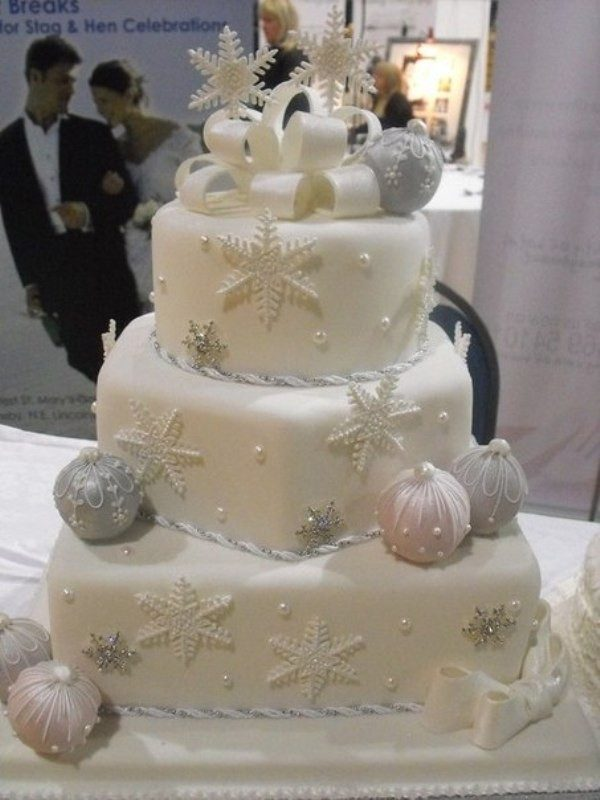 Christmas-Cake-Decoration-Ideas-2017-21 82+ Mouthwatering Christmas Cake Decoration Ideas 2019