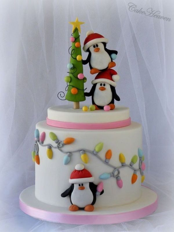 Christmas-Cake-Decoration-Ideas-2017-3 82+ Mouthwatering Christmas Cake Decoration Ideas 2019