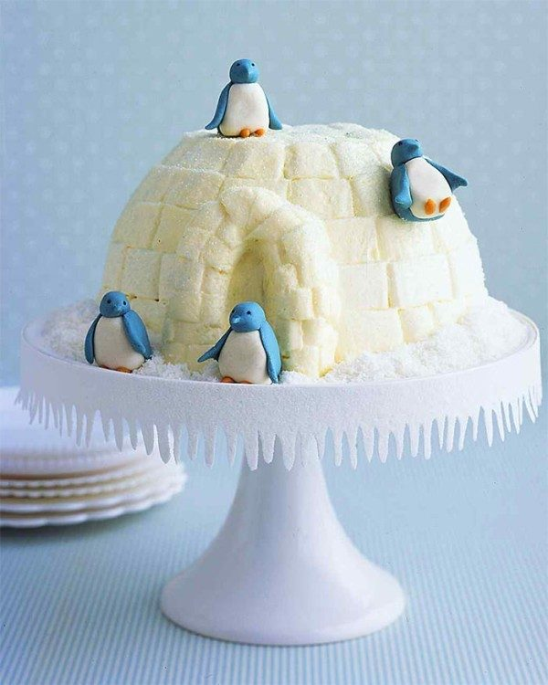 Christmas-Cake-Decoration-Ideas-2017-30 82+ Mouthwatering Christmas Cake Decoration Ideas 2019