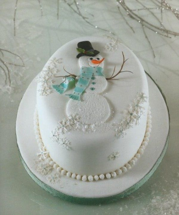 Christmas-Cake-Decoration-Ideas-2017-31 82+ Mouthwatering Christmas Cake Decoration Ideas 2019