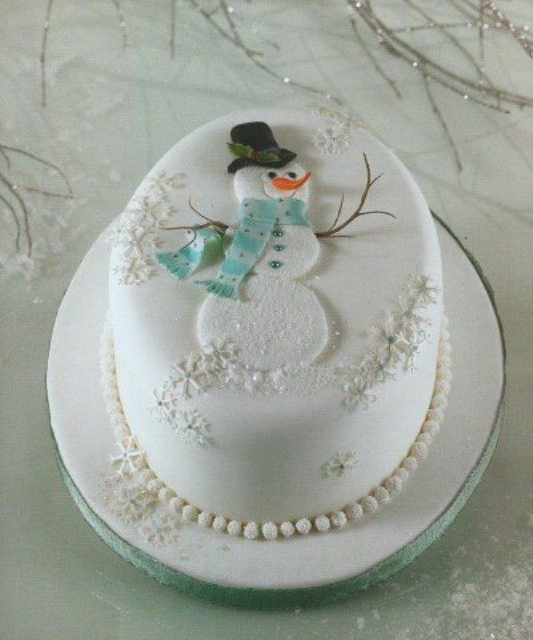 Christmas-Cake-Decoration-Ideas-2017-31 82+ Mouthwatering Christmas Cake
