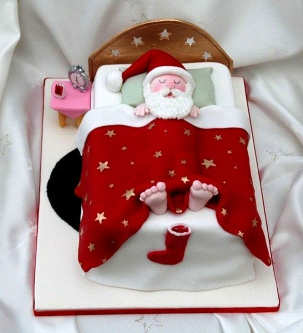 Christmas-Cake-Decoration-Ideas-2017-32 82+ Mouthwatering Christmas Cake Decoration Ideas 2019