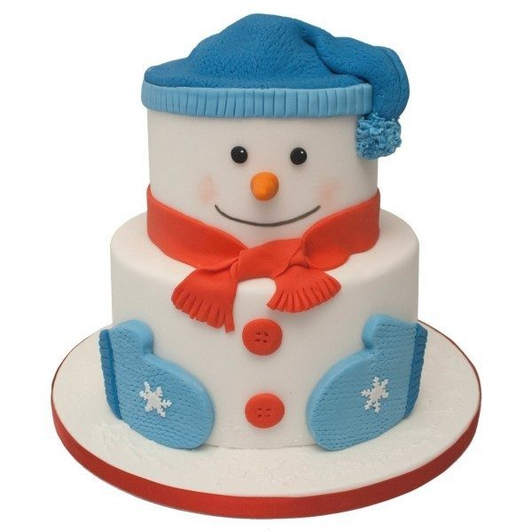 Christmas-Cake-Decoration-Ideas-2017-34 82+ Mouthwatering Christmas Cake Decoration Ideas 2019