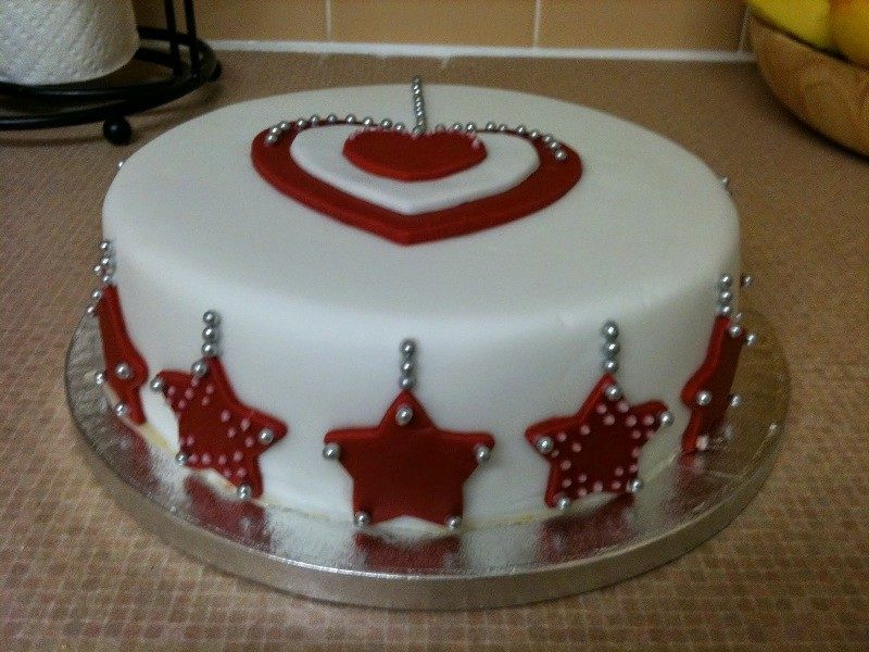 Christmas-Cake-Decoration-Ideas-2017-35 82+ Mouthwatering Christmas Cake Decoration Ideas 2019