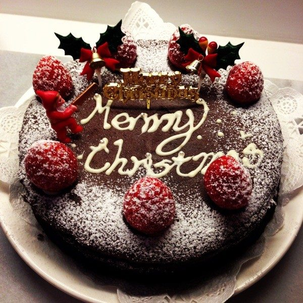 Christmas-Cake-Decoration-Ideas-2017-37 82+ Mouthwatering Christmas Cake Decoration Ideas 2019