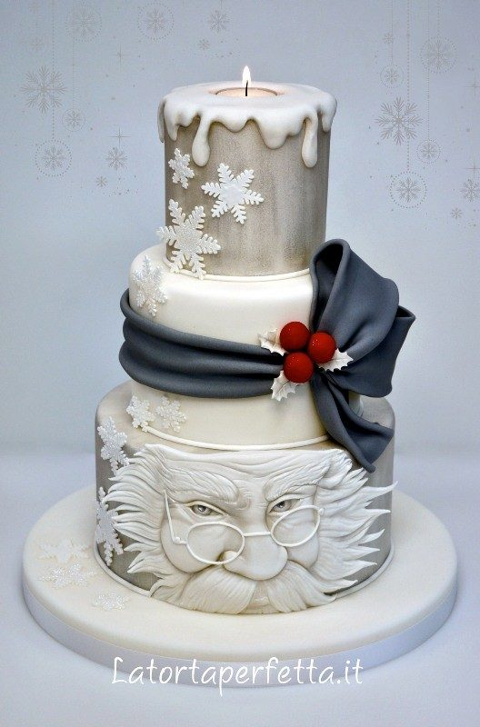 Christmas-Cake-Decoration-Ideas-2017-4 82+ Mouthwatering Christmas Cake Decoration Ideas 2019