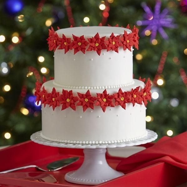 Christmas-Cake-Decoration-Ideas-2017-43 82+ Mouthwatering Christmas Cake Decoration Ideas 2019