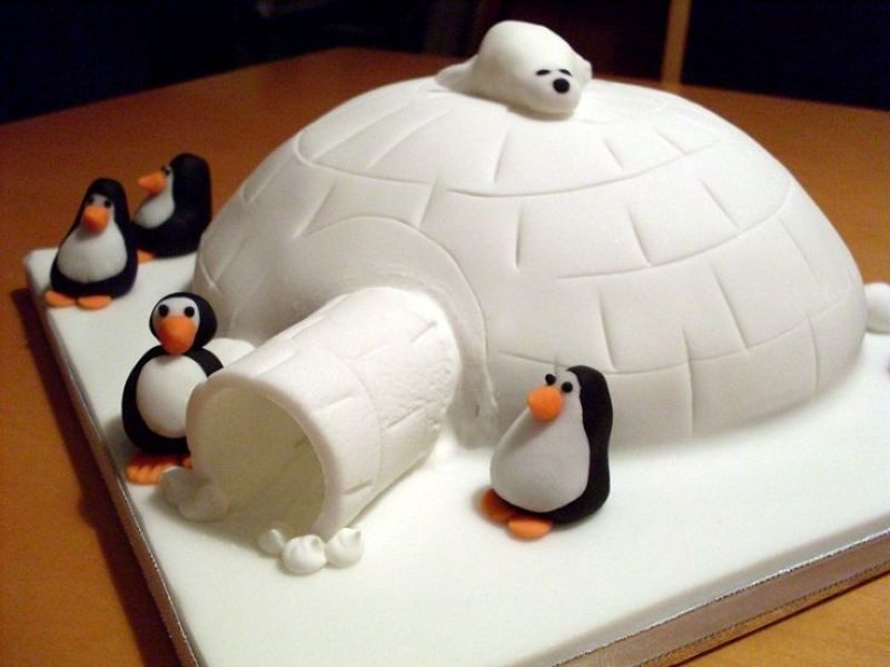 Christmas-Cake-Decoration-Ideas-2017-48 82+ Mouthwatering Christmas Cake Decoration Ideas