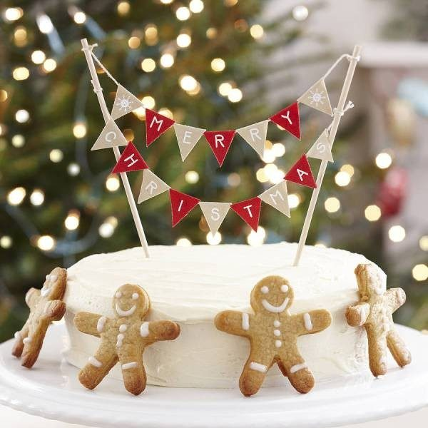 Christmas-Cake-Decoration-Ideas-2017-50 82+ Mouthwatering Christmas Cake Decoration Ideas 2019