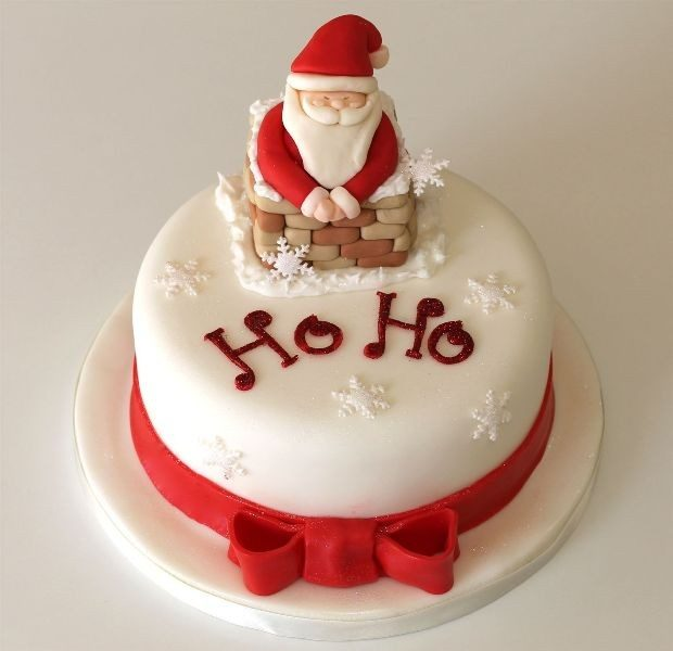 Christmas-Cake-Decoration-Ideas-2017-53 82+ Mouthwatering Christmas Cake Decoration Ideas 2019