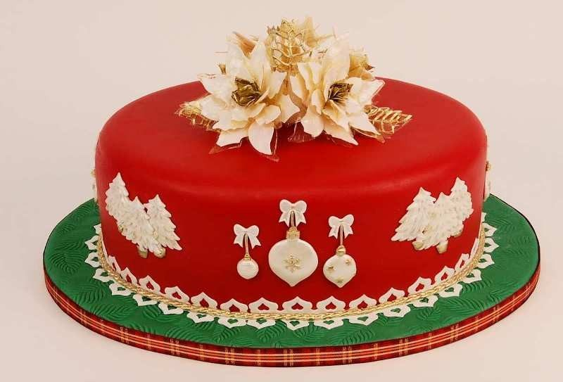 Christmas-Cake-Decoration-Ideas-2017-60 82+ Mouthwatering Christmas Cake Decoration Ideas 2019