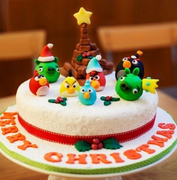 Christmas-Cake-Decoration-Ideas-2017-61 82+ Mouthwatering Christmas Cake Decoration Ideas 2019