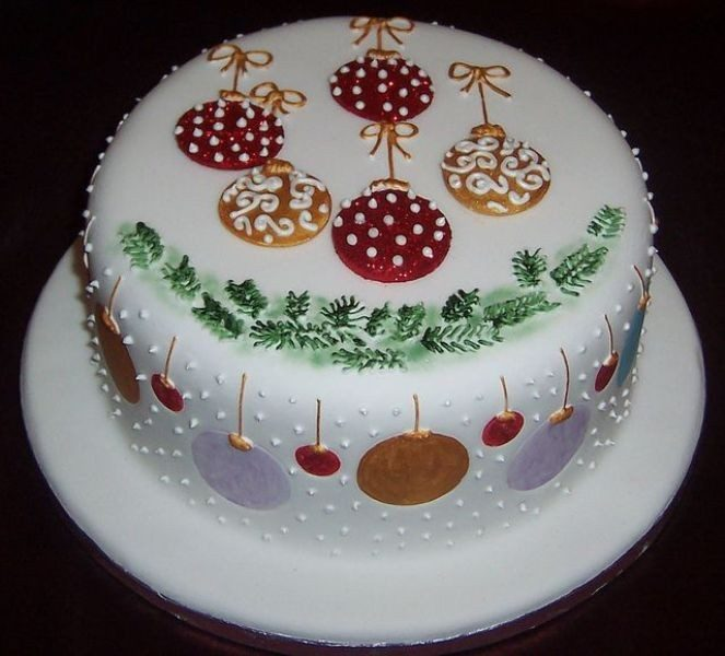 Christmas-Cake-Decoration-Ideas-2017-65 82+ Mouthwatering Christmas Cake Decoration Ideas 2019
