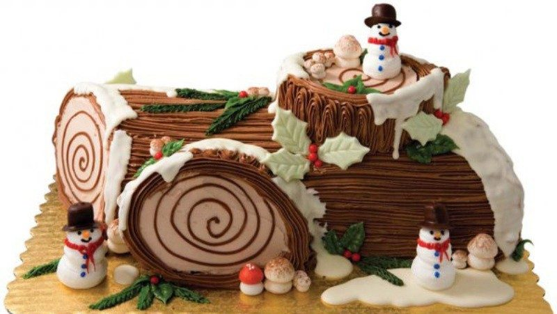 Christmas-Cake-Decoration-Ideas-2017-69 82+ Mouthwatering Christmas Cake Decoration Ideas 2019
