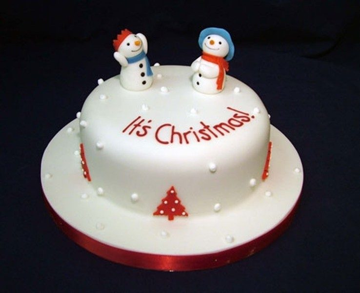Christmas-Cake-Decoration-Ideas-2017-71 82+ Mouthwatering Christmas Cake Decoration Ideas 2019