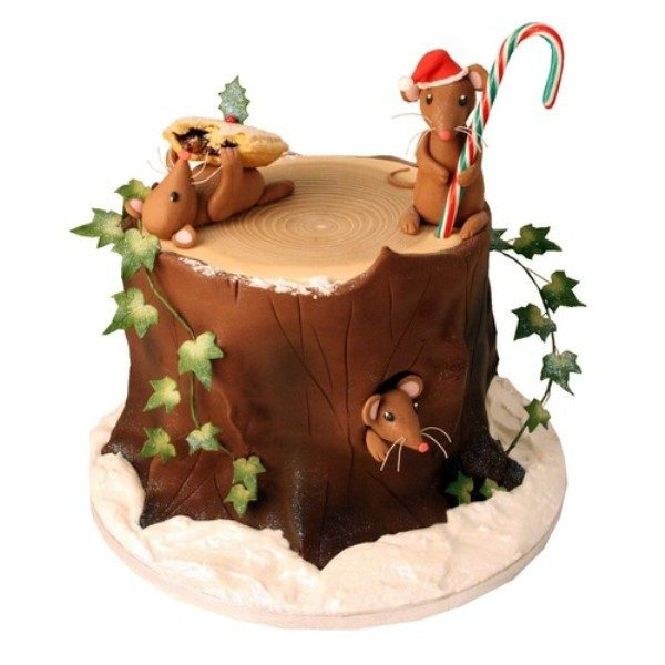Christmas-Cake-Decoration-Ideas-2017-74 82+ Mouthwatering Christmas Cake Decoration Ideas 2019