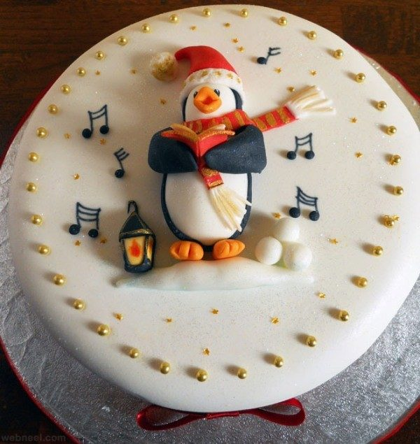 Christmas-Cake-Decoration-Ideas-2017-76 82+ Mouthwatering Christmas Cake Decoration Ideas 2019