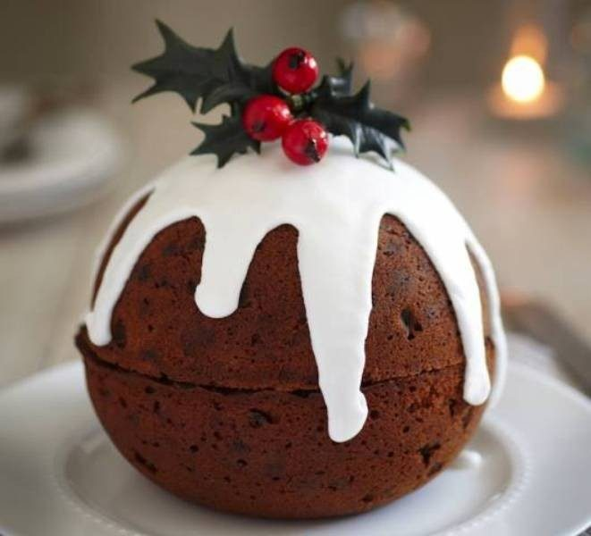 Christmas-Cake-Decoration-Ideas-2017-78 82+ Mouthwatering Christmas Cake Decoration Ideas 2019