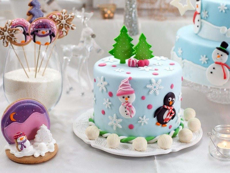 Christmas-Cake-Decoration-Ideas-2017-81 82+ Mouthwatering Christmas Cake Decoration Ideas 2019