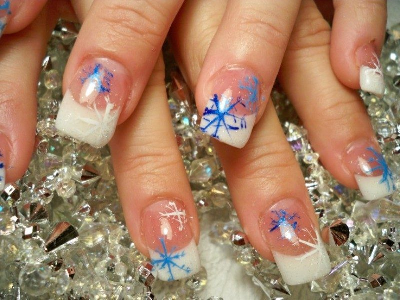 Christmas-Nail-Art-Design-Ideas-2017-1 88 Awesome Christmas Nail Art Design Ideas 2018/2019