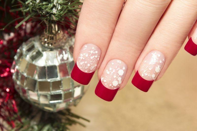 Christmas-Nail-Art-Design-Ideas-2017-11 88+ Hottest Christmas Nail Art Design Ideas 2020